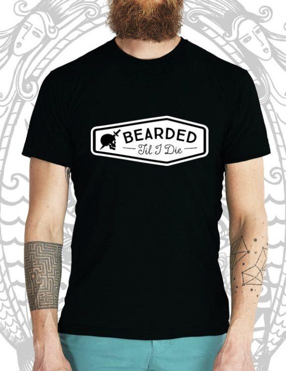 Bearded Till I Die Tee