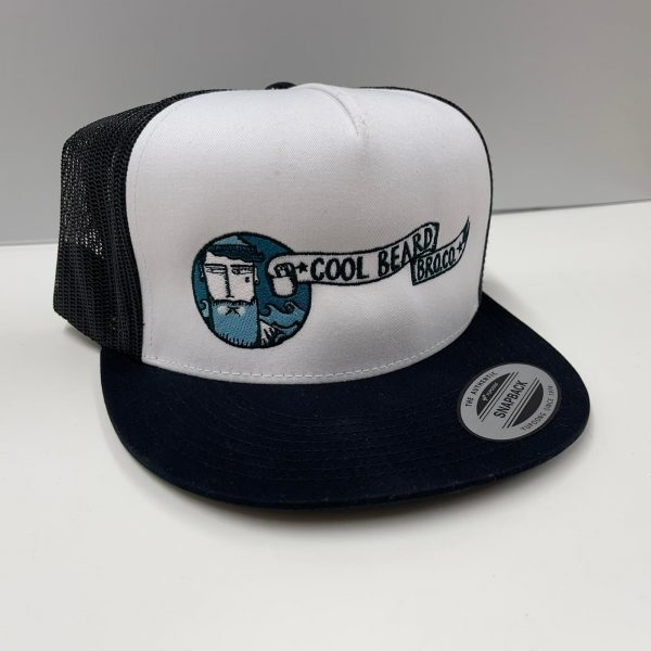 Coolbeard Bro Colour embroidered Yupoong Trucker Snapback Cap