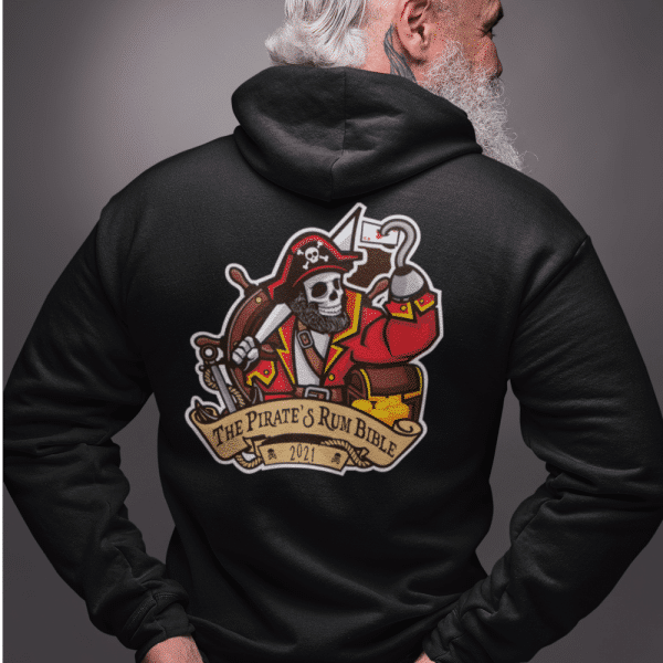 *Exclusive* The Pirates Rum Bible Clubwear Hoodie: 100% cotton