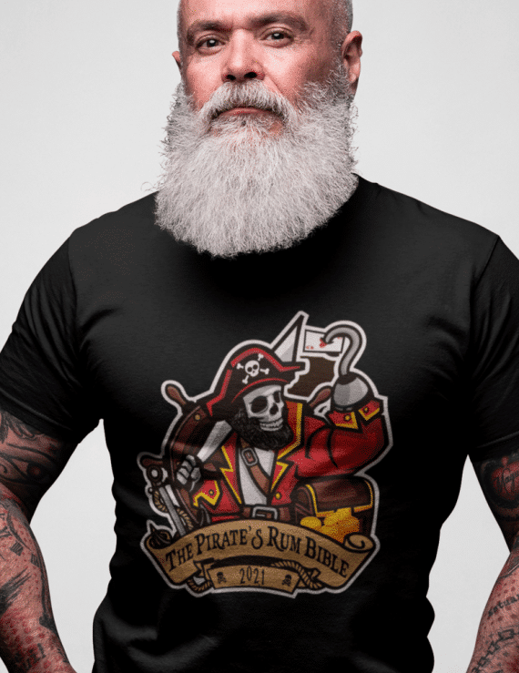 *Exclusive* The Pirates Rum Bible Clubwear T-Shirt: 100% cotton